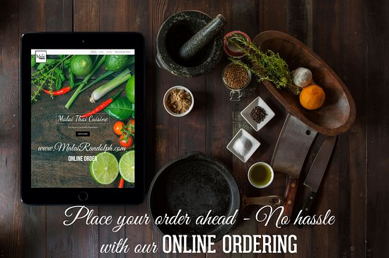 We are launching Online Order. Please to go www.malairandolph.com