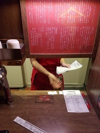 Ichiran, Shimbashi: Your eating booth