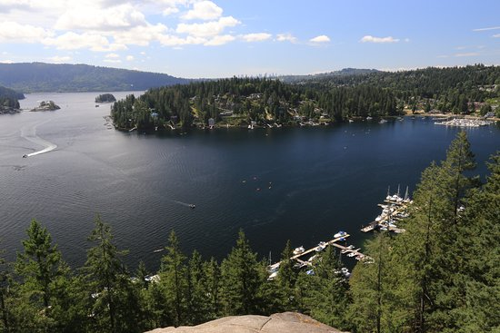 Deep Cove, Καναδάς: View from Quarry Rock