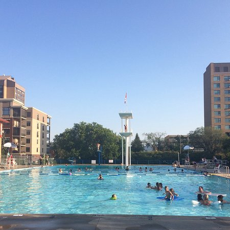 Moose Jaw, แคนาดา: Phyllis Dewar Outdoor Pool