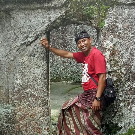 Agung has a lovely smile