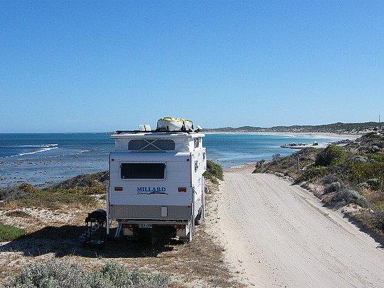 Minlaton, Australia: Gleesons Landing - bush camping at it's best