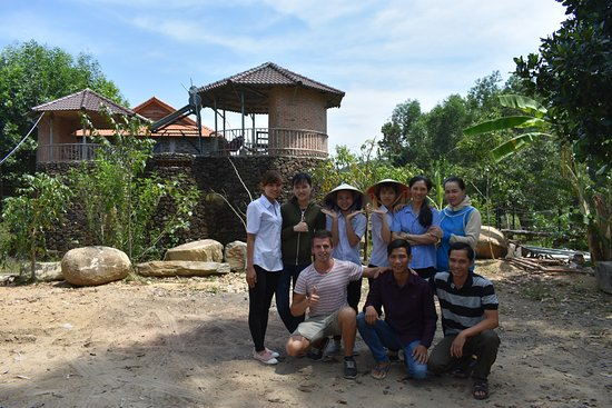 Cat Tien National Park, Βιετνάμ: một góc của lodge