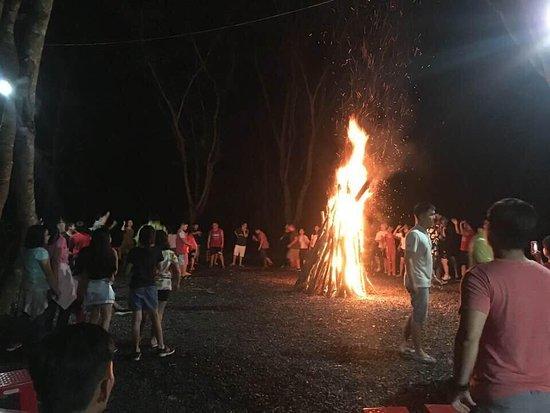Национальный парк Кат-Тьень, Вьетнам: campfire