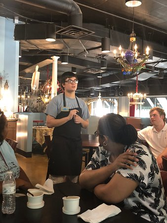 Tour De Food Charlotte: Hearing about Amelie's Bakery