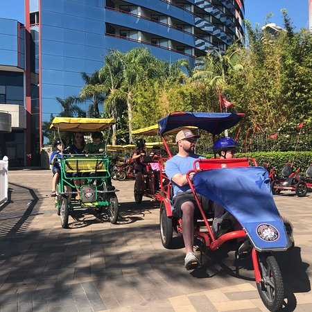 Wheels of Fun - Marriott Marquis & Marina