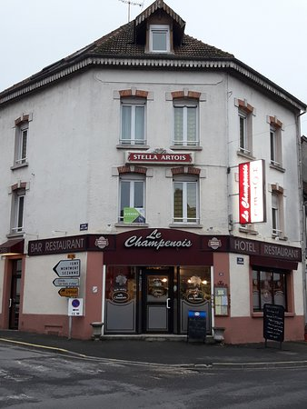 Champagne, France: Exterior of Restaurant