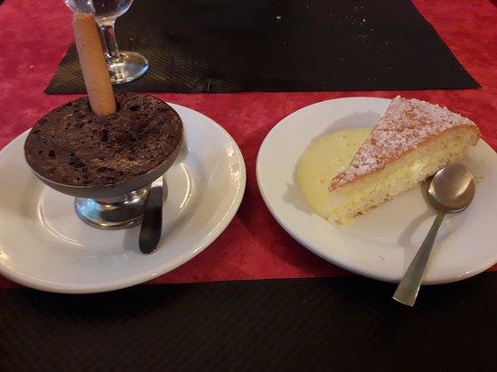 Champagne, France: Dessert