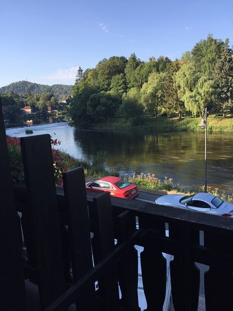 Hotel Am Schlossberg: View from my balcony