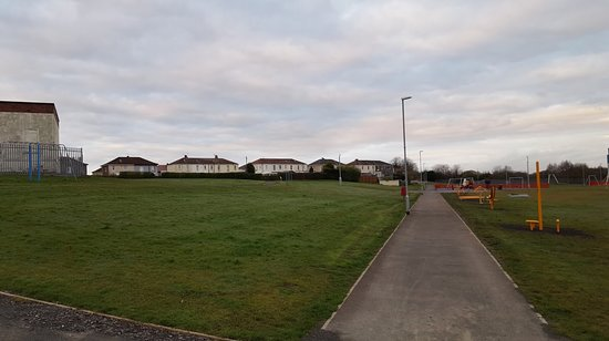 This is knockhill Park in Renfrew