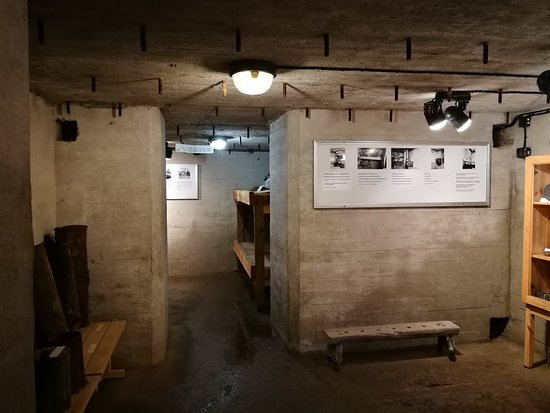 Bunkers for an independent visit