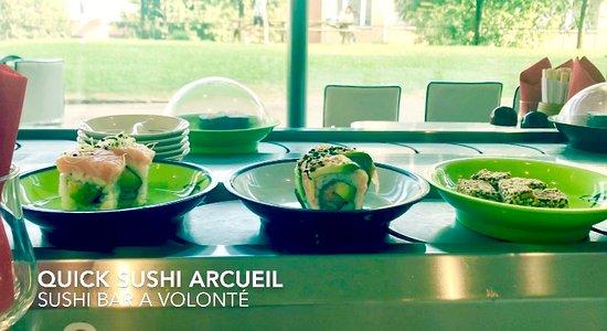 Quick sushi arcueil