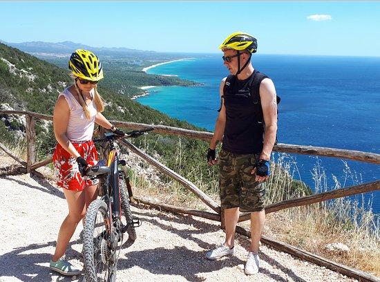 Active Holiday Sardinia: Veduta dalla panoramica Cala Gonone