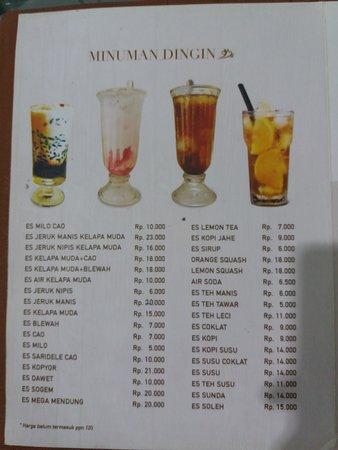 Warung Bu Kris, Juanda, Surabaya