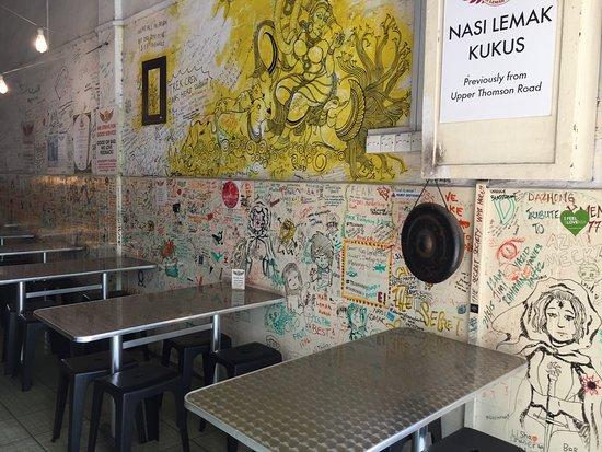 Nasi Lemak Kukus: 餐廳裡面
