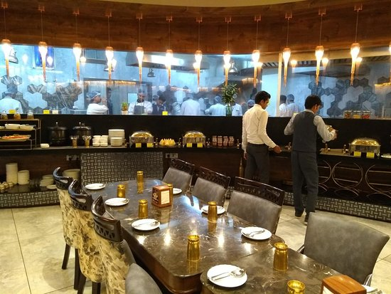 The Live Kitchen Picture Of Tgib The Grand Indian Buffet