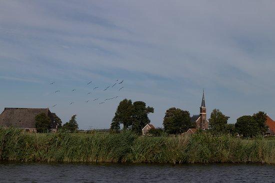 Heeg, The Netherlands: Prachtige kleine dorpjes aan de route