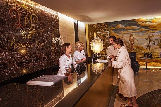 Grand Hotel Bernardin: Paradise spa - reception