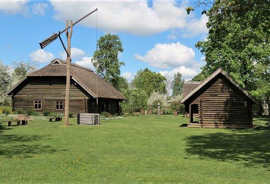"Jekabpils, Letonia: Jēkabpils History Museum Open - air exhibition ""Sēļu sēta"""