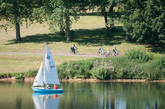 Edith Weston, UK: Picturesque cycle route around Rutland Water