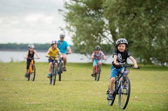 Edith Weston, UK: Great cycling for the whole family!