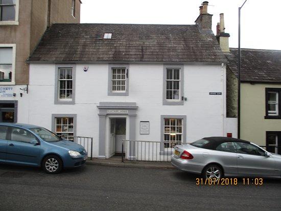 Moffat, UK: front  entrance