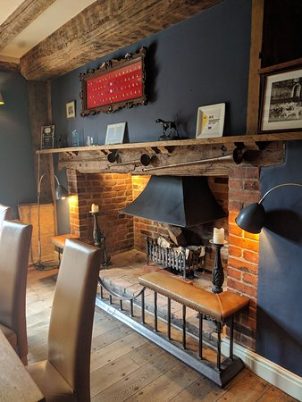 Bildeston, UK: Fire Restaurant