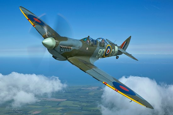 Biggin Hill, UK: Our Two Seater Spitfire MJ627