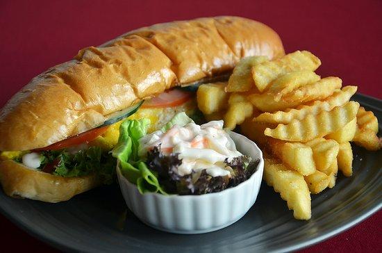 Lucaffe: My homemade beef burger