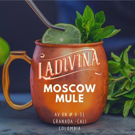 Un coctel para refrescarse. Moscow Mule Ladivina