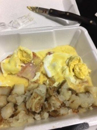 Hagersville, Canada: Gross breakfast
