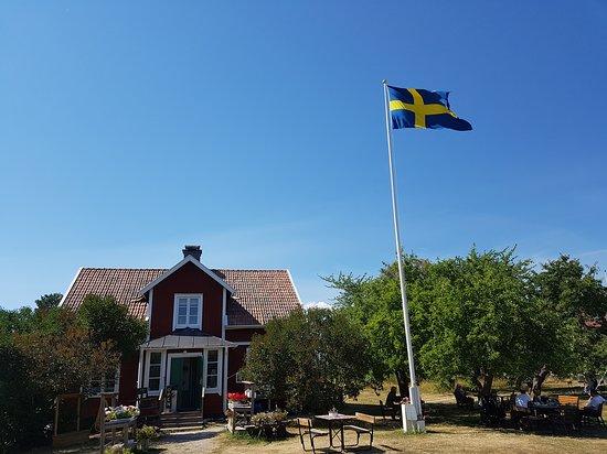 Adelso, สวีเดน: Café Hovgården rekommenderas varmt.