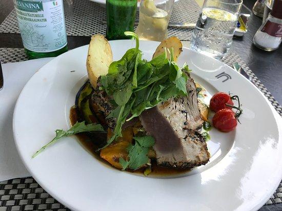Strombeek-Bever, Belgien: Tuna steak