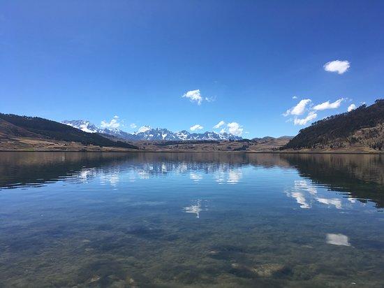 Lagunas, Peru: Laguna de Huaypo (Entre Cusco ciudad y El Valle Sagrado por la via de Chinchero)