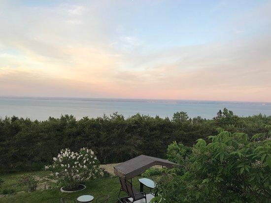 Saint-Irenee, Kanada: Vue de la terrasse