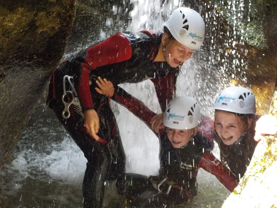 Vertical Dream: Canyoning tour with family
