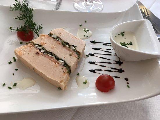 Arpajon, France: Terrine de saumon