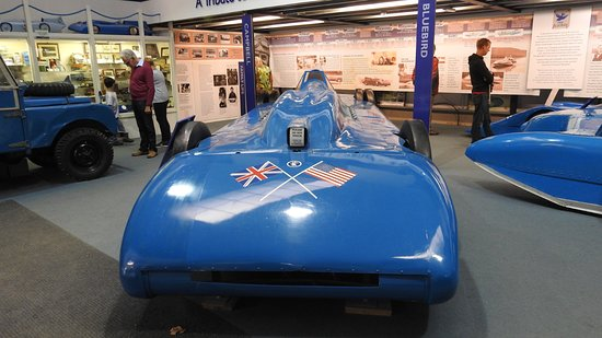 Lakeland Motor Museum : Donald Campbell exhibition...