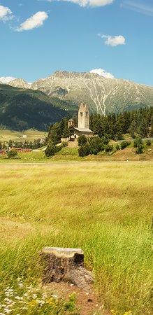 Celerina, Suiza: Chiesetta di San Gian