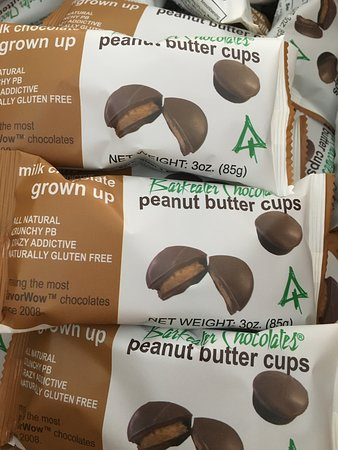 Barkeater Chocolates: Grown up Peanut Butter Cups