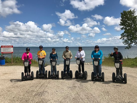 Door County, WI: Segway Tour by Segway the Doors Tour in July 2018