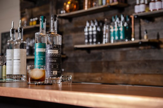Sudbury, Canadá: Triple Grain Vodka & Local Harvest Gin