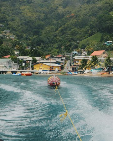 Charlotteville, Tobago: The Tumbler- Come try this bad boy for lots of excitement