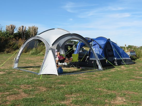 Return camping trip with kayaking on the Rother