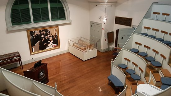 Ether Dome, Mass General Hospital - Picture of Ether Dome at