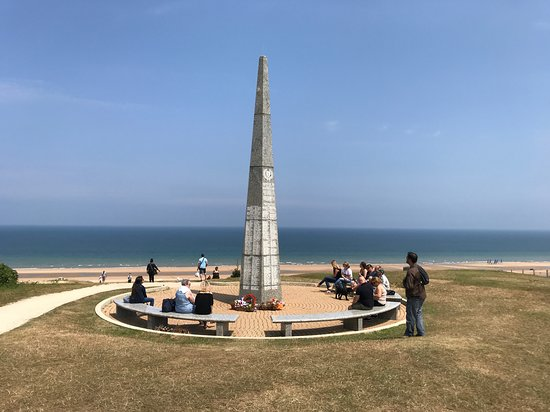 Memorial 1st US Infantry Division Omaha Beach