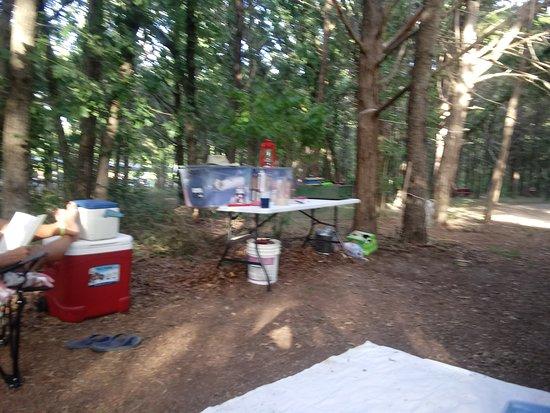 McDade, تكساس: Campsite