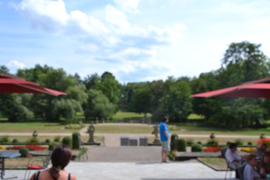 Werneck, Germany: Veduta sul parco