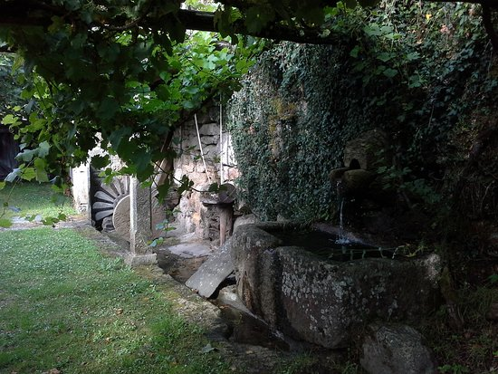 O Corgo, Spania: Zona museística del edificio. Area etnogáfica