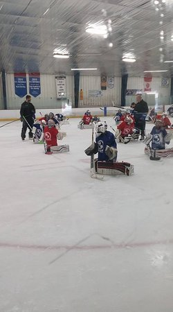 Evendale, OH: Mitch Korn Goalie Camp.